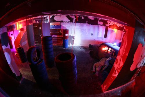 Arena laser tag