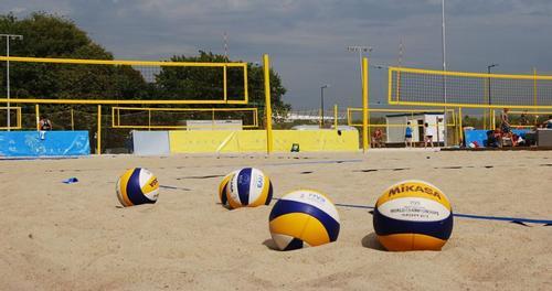 Eventy na piasku