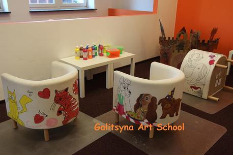 Artystyczne dzieci i rodzice