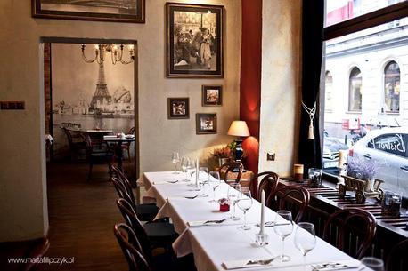 Przyjęcie z francuską kuchnią